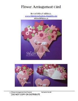 Mother's Day Flower Pop Up Card