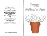 Mother's Day Flower Pot Card to Grow