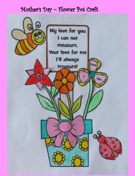 Mother's Day Crafts - Flower Pot Creation for Mom