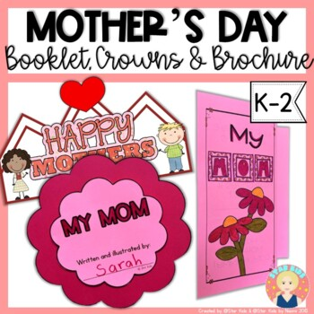MOTHER'S DAY BOOK AND CROWN
