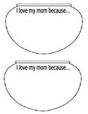 Mother's Day Flower Vase- I love my mom because