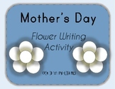 Mother's Day Flower Writing Activity