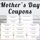Mother's Day Free Coupons