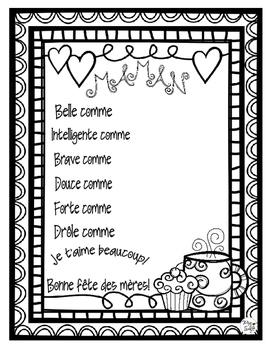 Mother's Day ~ French ~ Fête des mères