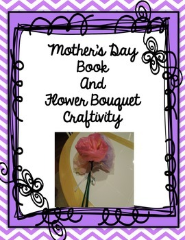 Mother's Day Gift - Book and Tissue Paper Flower Craft