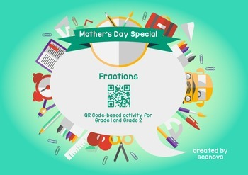 Mother's Day Gift Card (Fractions)