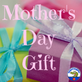 Mother's Day Gift Craftivity with Adjectives List