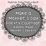 Mother's Day Gift- Make a Poetry Calendar
