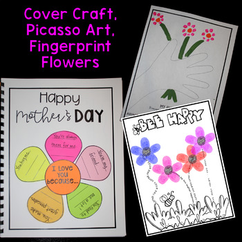 Mother's Day Gift! K-6! Three Sets Included! Writing, Poetry, Quotes, Art!