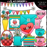 Mother's Day - Clip Art & B&W Set