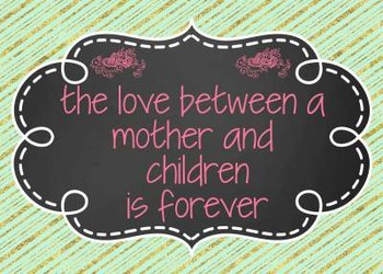 Mothers Day/ Grandparents Day/ The Love Between us is Special clipart