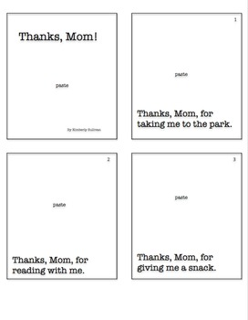 Mother's Day Mini Book Activity