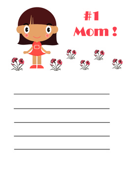 Mother's Day Handouts & Activities: Pre-K, Kindergarten - Language, Art, Fun