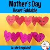 Mothers Day Heart Foldable