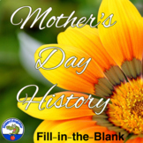 Mother's Day History - Fun Context Clues Practice Activity