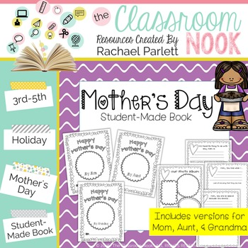 Mother's Day Homemade Gift Book