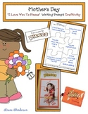"Free Mothers Day Craft: ""I Love You To Pieces"" Mother's Day Writing Prompt Craft"