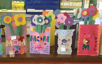 Mother's Day Idea... BOUQUET CARDS!