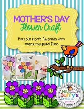 Mother's Day Interactive Flower Craft