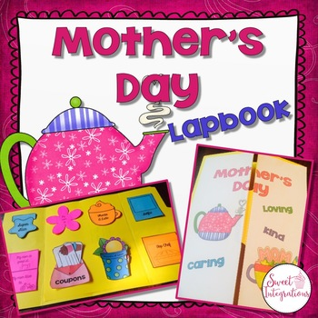 Mother's Day Lapbook - (Or Keepsake for a Special Friend)