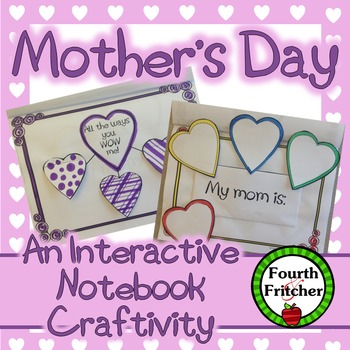 Mother's Day Interactive Notebook Craftivity