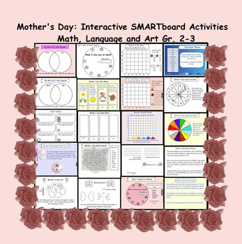 Mother's Day: Interactive Smartboard Activities (Language,