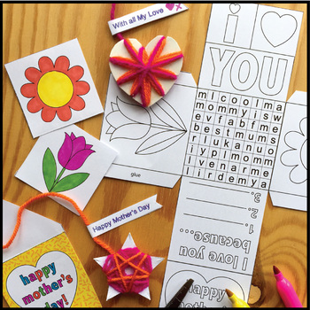 Mothers Day Craft Activity - Keepsake Gift Box