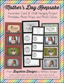 Mother's Day Keepsake {Printables, Ideas, and Photo Props}