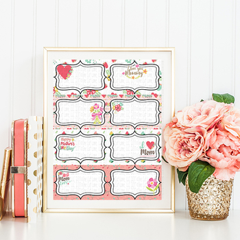 Mothers Day Labels/Notes