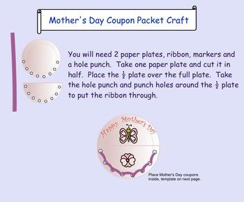 Mother's Day Language, Math, Art Activities PDF Gr. 2-3