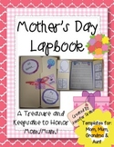Mother's Day Lapbook!  A Treasure & Keepsake to Honor Mom/Mum, Grandma & Aunt!