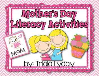 Mother's Day Literacy Activities- Happy Mother's Day