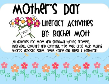 Mother's Day Literacy Fun