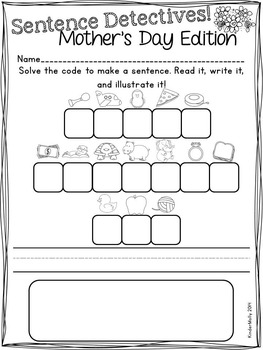 Mother's Day Mini Literacy Packet