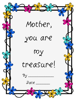 Mother's Day Literacy Writing Grammar Guided Writing Poetry Haiku