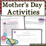 Mother's Day Activities and Logic Puzzles for 4th Grade
