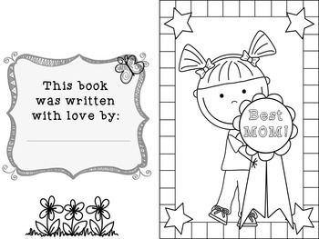 Mother's Day Make Your Own Reader K-3