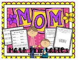 Mother's Day {Math Printables}