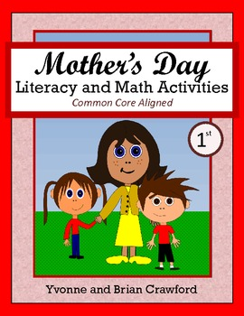 Mother's Day No Prep Math and Literacy Activities First Gr