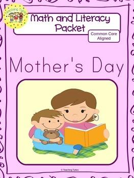 Mother's Day Worksheets Emergent Reader Task Cards