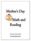 Mother's Day Math and  Reading