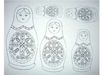 Mother's Day - Multicultural Matryoshka Doll Craft!