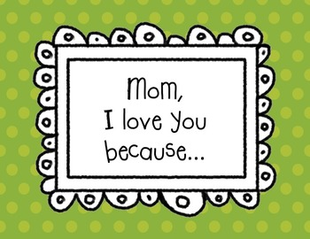 Mother's Day Message Folded Book