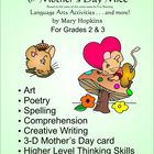 Mother's Day Mice Language Arts Activities and More!