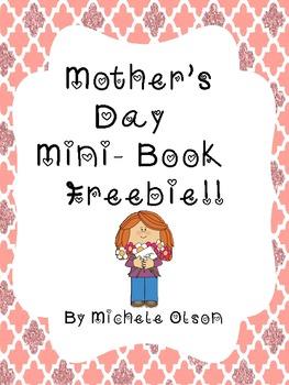 Mother's Day Mini-Book Freebie!!
