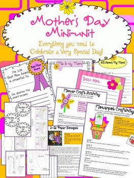 Mother's Day Mini-Unit Activity Kit