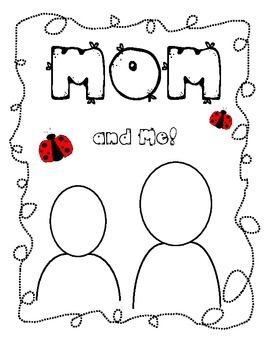 Mother's Day Mom and Me Ladybug Booklet