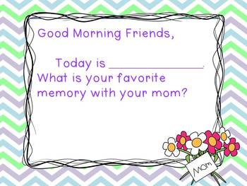 Mother's Day - Morning Messages