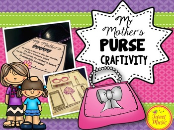 Mother's Day Purse Craft and Poem