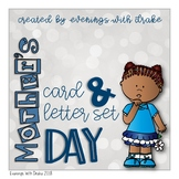 Mothers Day English and Spanish Card & Letter Set (No Prep)